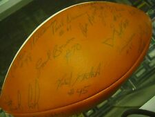 1979 PITT PANTHERS TEAM SIGNED FOOTBALL DAN MARINO FRESHMAN HUGH JIMBO RUSS MAAS
