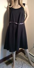 LANE BRYANT BLACK SEXY SLEEVELESS MAXI MINI STRETCH DRESS PLUS SIZE 26W RV$80.00