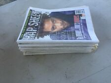 Vintage RAP SHEET Magazine Hip Hop 1995 12 issue lot  Method Man Ice Cube KRS 1