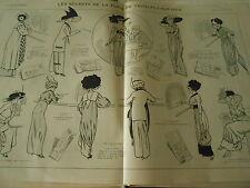 Le Secret de la Poste de Troulala Syr Mer Print Art Déco 1910