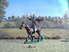 Supreme Medieval Russian mounted knight attacking 60mm