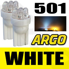 6 LED XENON WHITE 501 BULBS PEUGEOT 607 806 807 1007