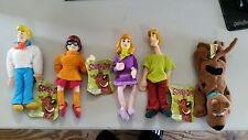 Scooby Doo Plush Doll Groovy Bean Bags Lot of 5 Cartoon Network