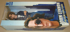 "THE BEATLES JOHN LENNON THE NEW YORK YEARS 18"" FIGURE WITH SOUND NECA 2006"