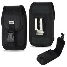 Reiko Locking XXX Security Black Case & Belt Loop Phones up to 6.3 inches tall.