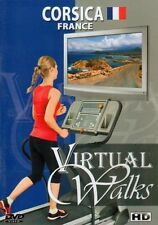 CORSICA FRANCE VIRTUAL WALK TREADMILL WALKING WORKOUT DVD AMBIENT COLLECTION NEW