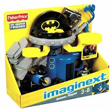FISHER-PRICE DC Super Friends IMAGINEXT Batman Playset NEW Command Ctr. BatCycle