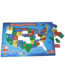 Melissa and Doug Extra Large Floor Puzzle USA States For Ages 6 Years Old And Up