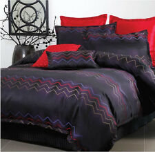 Vivid - Double Bed Quilt Cover Set + Lumbar Cushion - by Georges Fine Linens