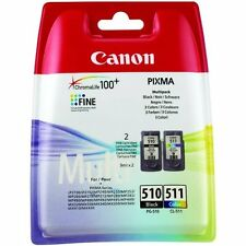 ORIGINALE Canon pg510 cl511 Inchiostro Cartucce Pixma mp250 mp280 mp495 mp270 mp490set