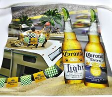 Große Corona Beer USA Wimpel Kette 7,5 m Girlande Flaggen Partykette Party
