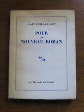 POUR UN NOUVEAU ROMAN by Alain Robbe-Grillet -1st PB 1963 French Editions Minuit