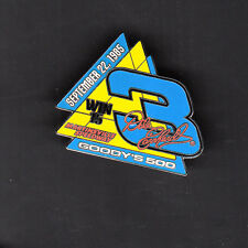 Dale Earnhardt Sr 2004 Collector's Pin #15 September 22 1985 Goody's 500