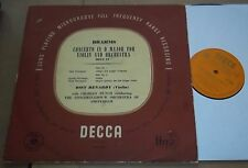 Ossy Renardy/Charles Munch BRAHMS Violin Concerto - Decca LXT 2566 Orange/Gold