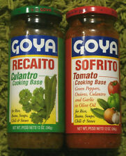 SOFRITO & RECAITO GOYA Cooking Base (12 oz) Jar  *Puerto Rico*