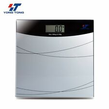 New Digital Glass LCD Electronic Weight Body Bathroom Scale Sale 180KG/396LB
