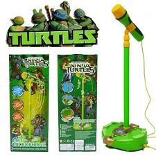 DISNEY TMNT NINJA TURTLE KID TOY EDUCATION MUSICAL MICROPHONE MUSIC SOUND LIGHT