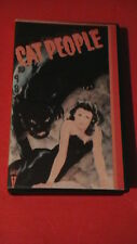 cat people 1942 b&w horror fantasy thriller king of video clamshell big box rare