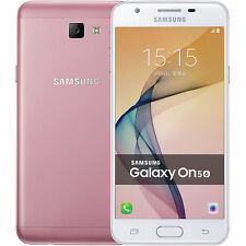 "Samsung Galaxy On5(2016) G5510 Pink Dual SIM 16GB 5.0"" Android Phone By FedEx"