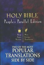 Holy Bible: People's Parallel Edition (King James VersionNew Living Translation)