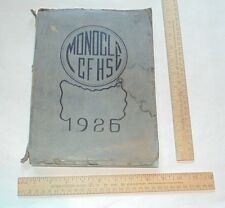 1926 Chippewa Falls, WI - The Monocle - Senior High School Yearbook