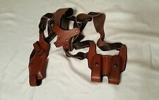 Ross Leather Shoulder Holster System Right Hand GLOCK 26 Leather