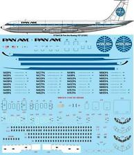 26Decals 1/144 Boeing 707 - Pan Am (late) decals