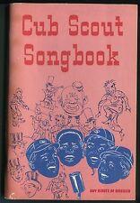 Vintage BSA Scouting Publication Cub Scout Song Book ©1969 Cat. No. 3222