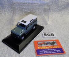 Lot 699. Cararama/Hongwell Land Rover Defender. With Display Case.