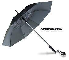Komperdell Wanderstock mit Regenschirm Titanal Trekkingstock