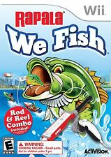Rapala: We Fish (with rod controller) WII New Nintendo Wii