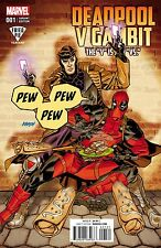 DEADPOOL v GAMBIT 1 DAVE JOHNSON FRIED PIE EXCLUSIVE VARIANT vs PRE-SALE 6/22