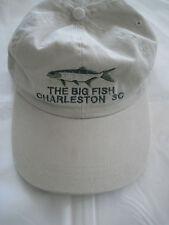 """CHARLESTON South Carolina baseball style cap """"THE BIG FISH""""-Pre-owned"""