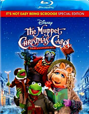 Disney Jim Henson Charles Dickens The Muppet Christmas Carol Movie on Blu-ray