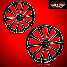 "Hayabusa, GSXR, ZX14 Custom 360mm Wheels,""Redemption"" wheel set"