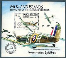 FALKLAND - BF - 1991 - Seconda visita di S.A.R. Duca di Edimburgo
