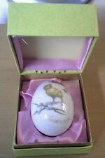 ROYAL BAYREUTH 1974 PORCELAIN EASTER EGG TETTAU GERMANY BABY CHICKS