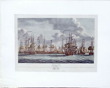 (PRL) 1971 VELIERI AL RIENTRO OLANDA MUSEUM VINTAGE AFFICHE ART PRINT SHIPS SEA