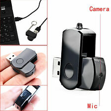 NEU USB Stick Spion Kamera MINI SPY Cam Kamera HD Bewegungsmelder 32GB SD DVR