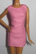 * DRESS ONLY ~ BARBIE DOLL SPEED RACER TRIXIE PINK MINI TANK COCKTAIL MODEL MUSE