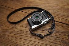 Genuine Leather Camera Shoulder Strap for Fuji X100T X-M1 Ricoh GR Sony RX1 etc.