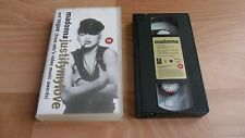MADONNA - JUSTIFY MY LOVE / VOGUE (SCARCE & RARE  2 TRACK VHS VIDEO EP)