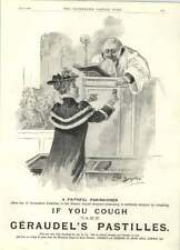 1894 Faithful Parishioner Looks After Her Pastor