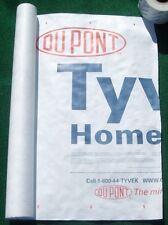 5' X 6' Tyvek Homewrap Cover Ground Sheet Fabric Tent Tarp Footprint Kite Bags