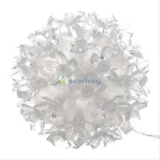50 LED Petals Round Ball Shaped Lights Lamp for Festive Christmas Party Decor