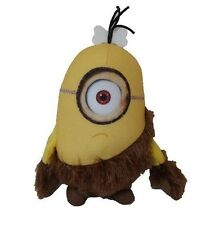 Minions CAVEMAN STUART Soft PLUSH TOY 18cm Officially Licensed