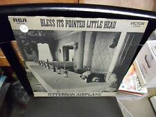 Jefferson Airplane Bless It's Pointed Little Head LP RCA [Orange Label] EX