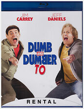 DUMB AND DUMBER TO (Blu-ray,2015) RENTAL EXCLUSIVE
