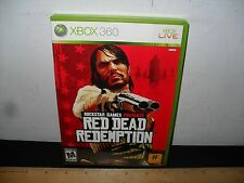 XBOX 360 - RED DEAD REDEMPTION - COMPLETE - ROCKSTAR GAMES - FREE SHIPPING