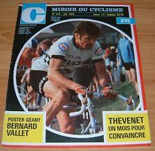 MIROIR CYCLISME N°215 1976 VALLET THEVENET POULIDOR MAERTENS 4 JOURS DUNKERQUE